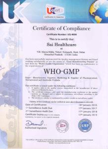 Sai-Healthcare-WHO-GMP